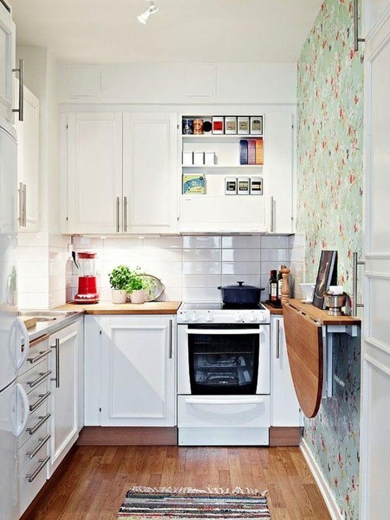 Дизайн для крошечной кухни